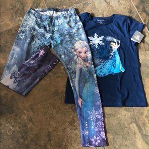 ❄️ Bogo Elsa leggings and t-shirt